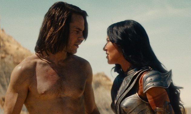 Extended 'John Carter' Trailer Drops, Taylor Kitsch Remains Hot, Dirty, and Barely Dressed