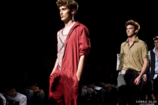 A New York Fashion Week Minute: Paul Marlow from Loden Dager