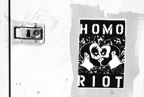 Chatting With Homo Riot About 'A History of Queer Street Art'