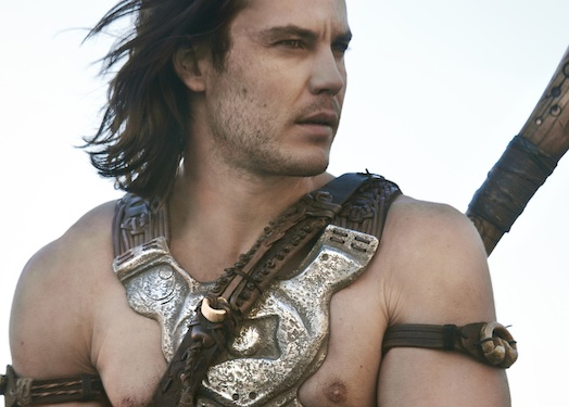 New 'John Carter' Clips Released, Now With More Shirtless Taylor Kitsch