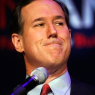 Rick Santorum Still Plagued by Savage Results