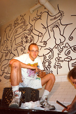 keith haring safe sex