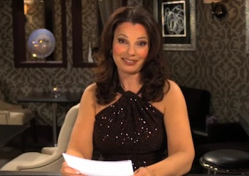 WATCH: Fran Drescher on Closeted Gaydar and Older Man Dating Drama