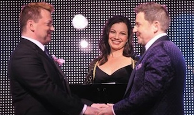 Fran Drescher Officiates Wedding of Two Men
