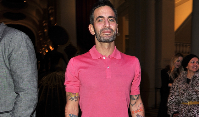 Pretty in Pink: Marc Jacobs Wore a Pink Polo Dress