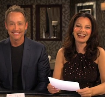WATCH: Fran Drescher on How to Overcome Feeling Intimidated at a Bar