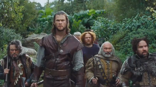 Watch: 'Snow White and The Huntsman' Extended Trailer