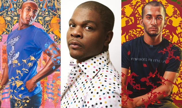 Male Gaze: Kehinde Wiley's Series Lingers on Israeli Men