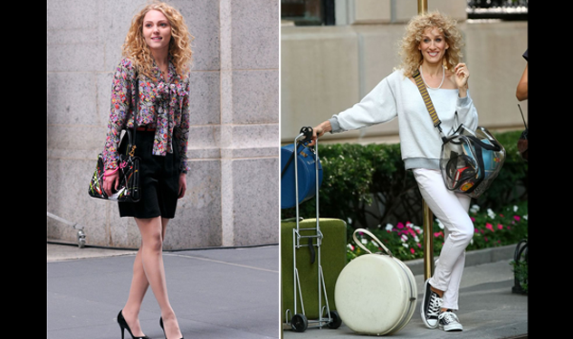 Carrie-d Away: Photos Emerge of 'Sex and the City' Prequel, 'The Carrie Diaries'