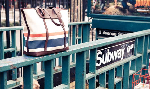 Big Apple Baggin': Coach Teams up with The Coveteur