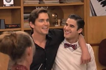 WATCH: Matt Bomer and Darren Criss as Brothers on 'Glee'