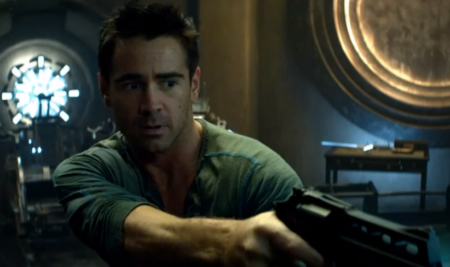 Trailer Trash: Colin Farrell in 'Total Recall'