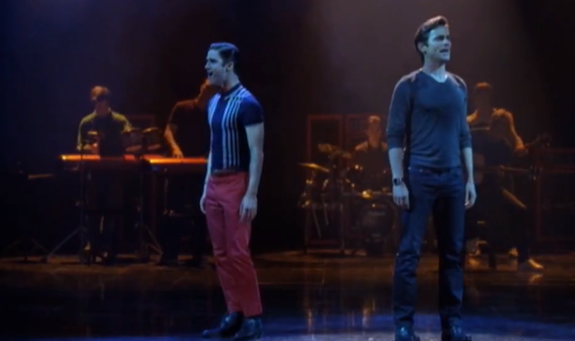 Matt Bomer and Darren Criss Get Emotional On 'Glee'