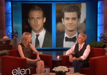 Who's a Better Kisser: Ryan Gosling or Andrew Garfield?