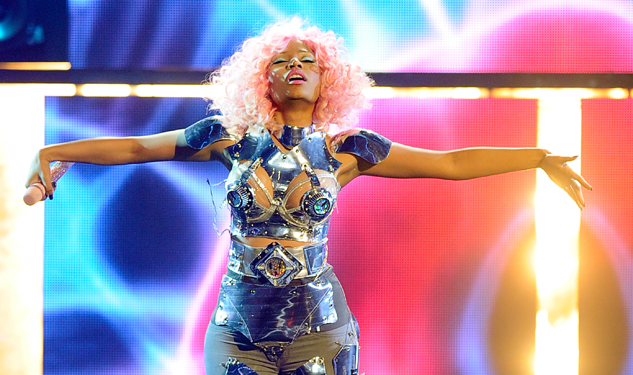 Nicki Minaj Takes Over Times Square to Launch of Nokia Lumia 900 for AT&T