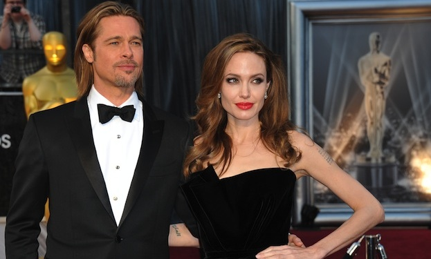 Angelina Jolie is Wearing an Engagement Ring