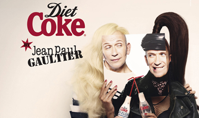 Pic of the Day: Jean Paul Gaultier's Ads for Diet Coke