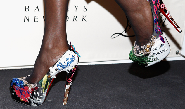 Warning: Don't Mess With a Woman and Her Louboutins—She May Beat You