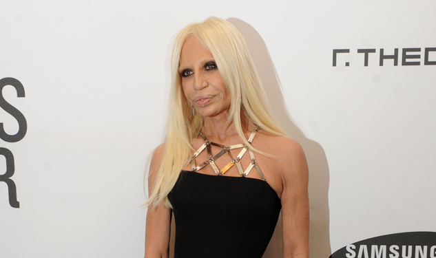 Donatella Versace's Life is Expectedly Glamorous, Includes 'Downton Abbey'
