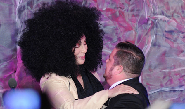 Pic of the Day: Cher With Her Son, Chaz, at the GLAAD Awards