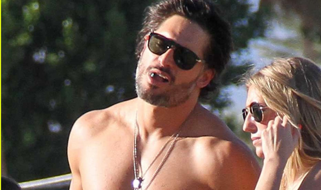 Reasons to Go to Coachella: Joe Manganiello Walks Around Shirtless