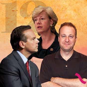 The Power List: TAMMY BALDWIN, DAVID CICILLINE, JARED POLIS