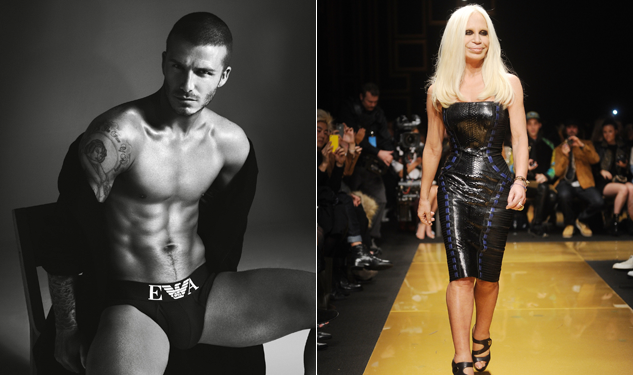 Happy Birthday Donatella Versace and David Beckham!