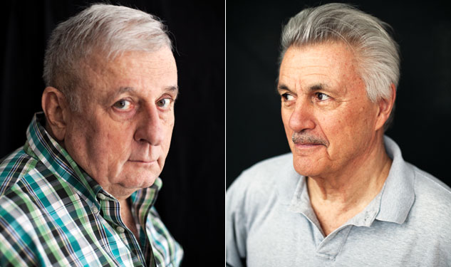 Two Men Talking: Edmund White & John Irving