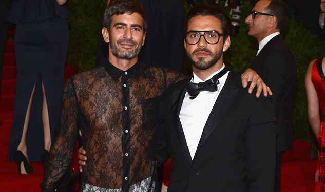 Marc Jacobs Wore a Lace Dress to the Met Gala Last Night