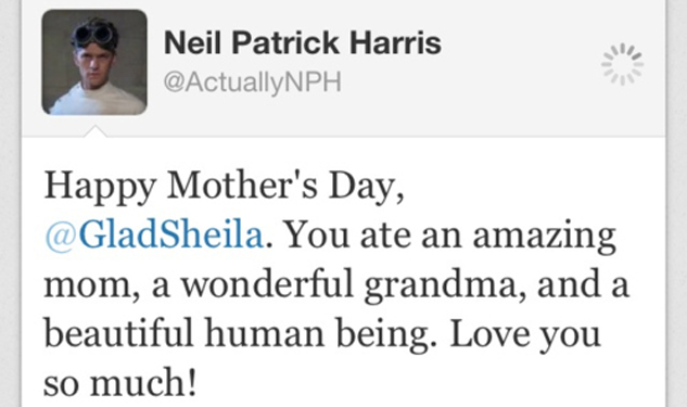 Neil Patrick Harris Outs His Mother as Cannibal (Huh!?)