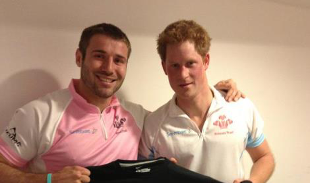 Ben Cohen and Prince Harry Don't Like Bullying
