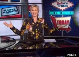 WATCH: Jane Lynch Fills In For Rachel Maddow