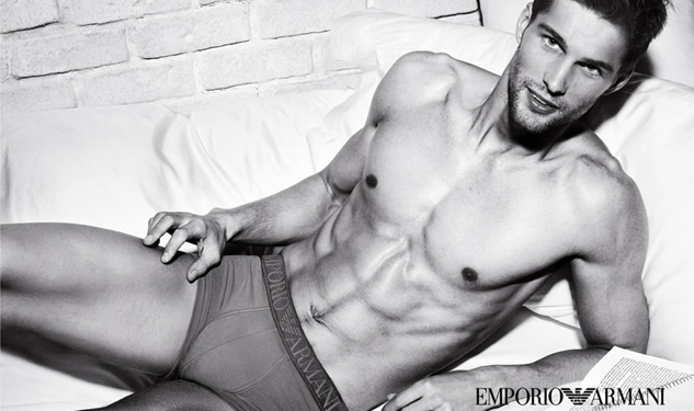Ad Men: Emporio Armani's Bedroom Eyes, H&M Hits the Beach