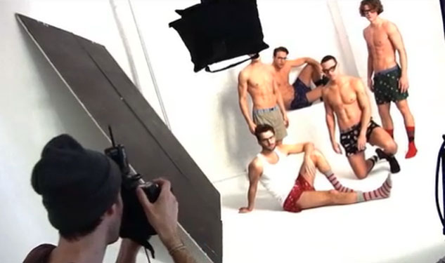Behind the Shoot: Tommy Hilfiger