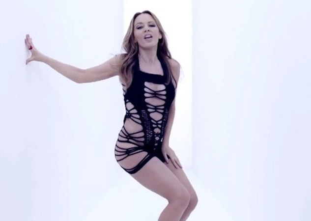WATCH: Kylie Minogue Launches 'Timebomb'