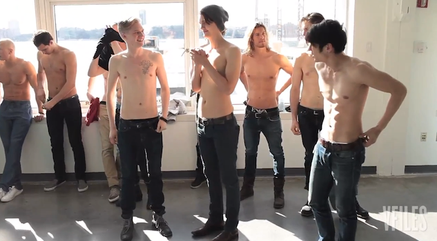 Video: Casting the Shirtless Guys Who Welcome You at Hollister