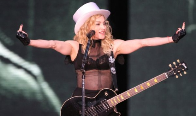 Reborn This Way: Madonna Rehearses 'Born This Way/Express Yourself' Medley