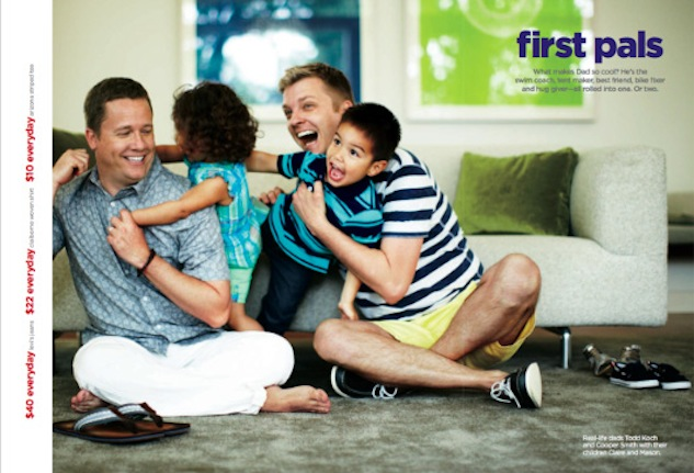 UPDATE: JC Penney Features Gay Fathers in Catalogue, One Million Moms Take Offense