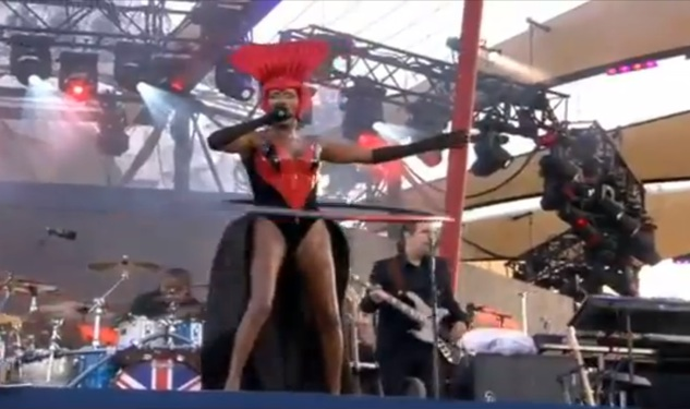 Grace Jones Steals Show At Jubilee Concert
