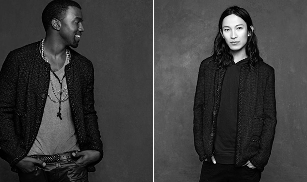 Kanye West, Alexander Wang Rock the Classic Chanel Jacket
