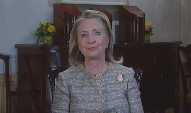 Hillary Clinton Wishes You 'A Happy Pride'