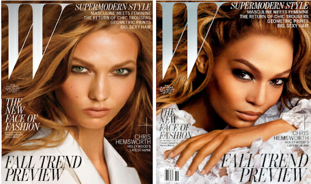 Karlie Kloss and Joan Smalls Cover 'W'