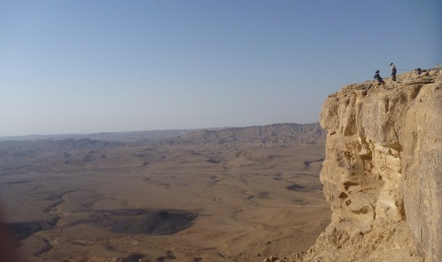 Out in Israel: Sunrise (and Rappelling) at the Makhtesh Ramon