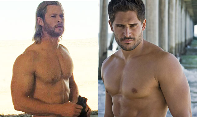 Decision Time: Hemsworth or Manganiello Shirtless