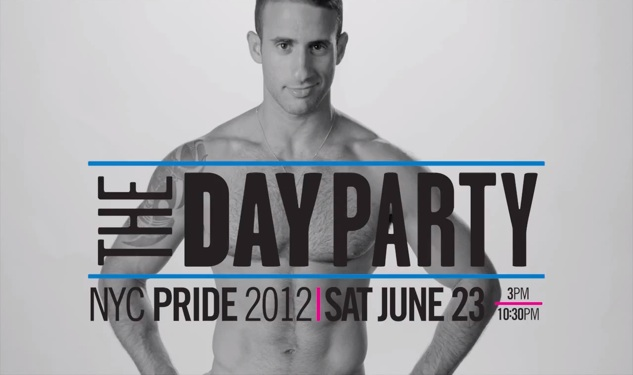 Be BOLD at the Calvin Klein Underwear Pride Day Party