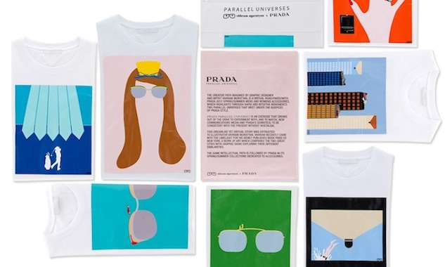Prada Collaborates with Vahram Muratyan for T-Shirt Collection