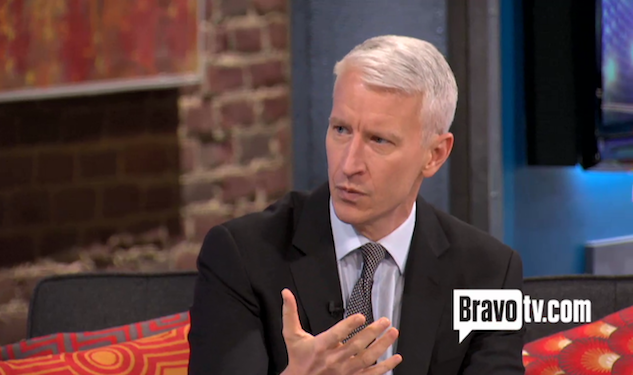 Anderson Cooper Gets Sassy on Flight