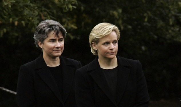 Mary Cheney Marries