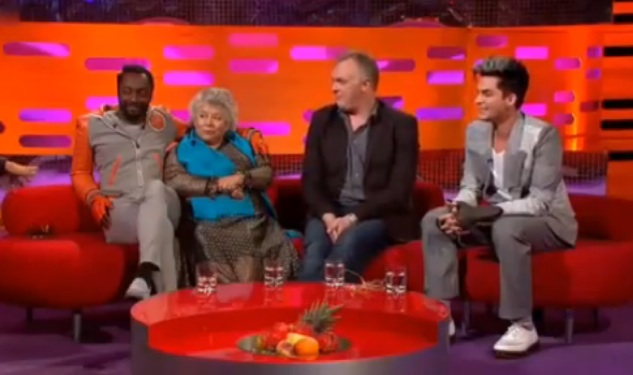 Nutty Miriam Margolyes Tells Graham Norton About Giving a Soldier a 'Helping Hand'