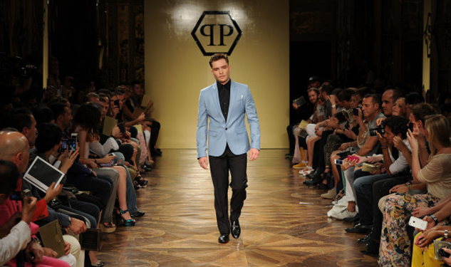 Chuck Bass Hits the Catwalk